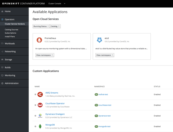 Generally Available today: Red Hat OpenShift Container Platform 3 11