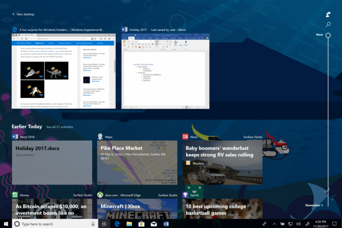 Announcing Windows 10 Insider Preview Build 17063 for PC