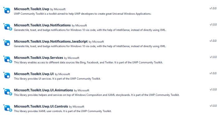 Introducing the UWP Community Toolkit